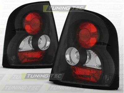 Задние фонари Black от Tuning-Tec на Skoda Octavia I Liftback