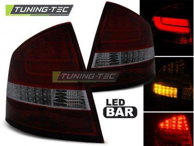Задние фонари NeonTube Red Smoke от Tuning-Tec на Skoda Octavia II Liftback