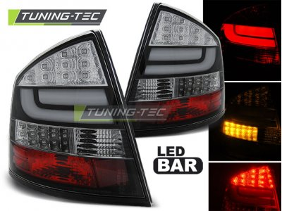 Задние фонари NeonTube Black от Tuning-Tec на Skoda Octavia II Liftback