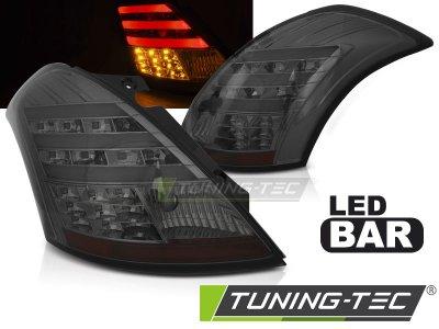 Задние фонари Full LED Smoke от Tuning-Tec на Suzuki Swift III