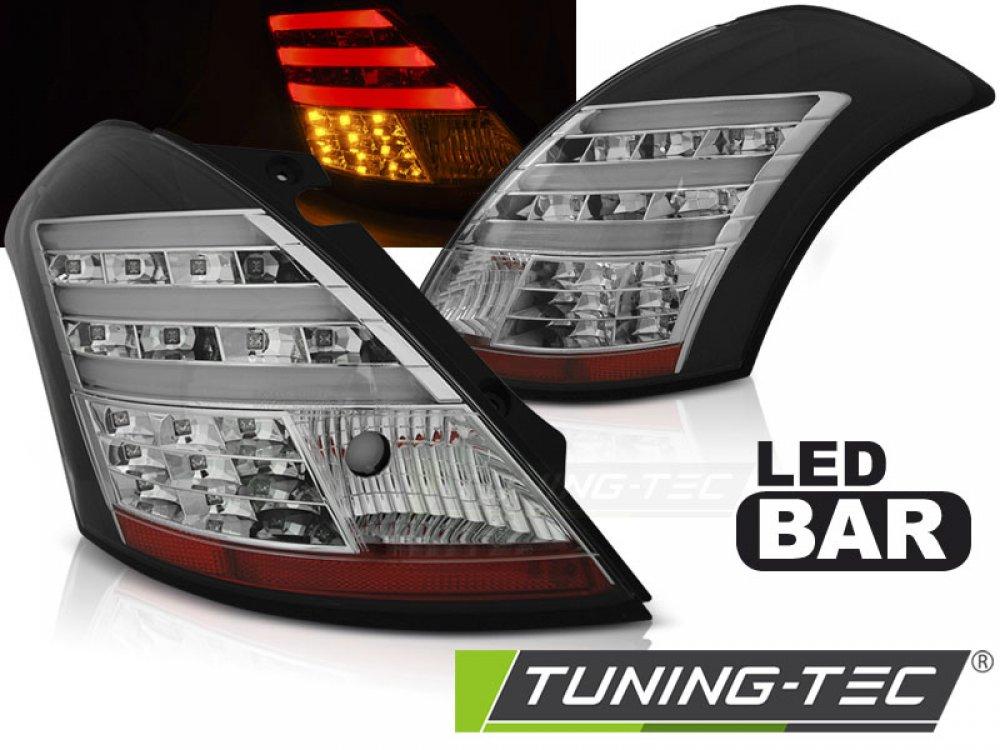 Задние фонари Full LED Black от Tuning-Tec на Suzuki Swift III