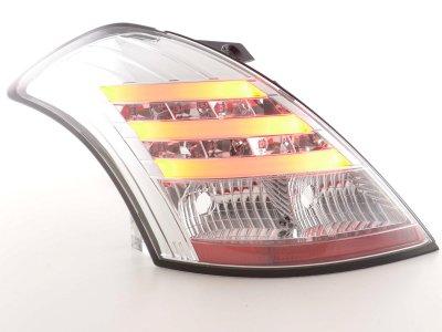 Задние фонари LED Chrome от FK Automotive на Suzuki Swift III