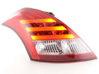 Задние фонари LED Red Сrystal от FK Automotive на Suzuki Swift III