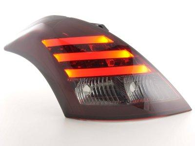 Задние фонари LED Red Smoke от FK Automotive на Suzuki Swift III