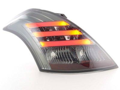 Задние фонари LED Smoke от FK Automotive на Suzuki Swift III