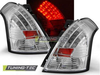Задние фонари LED Chrome на Suzuki Swift II