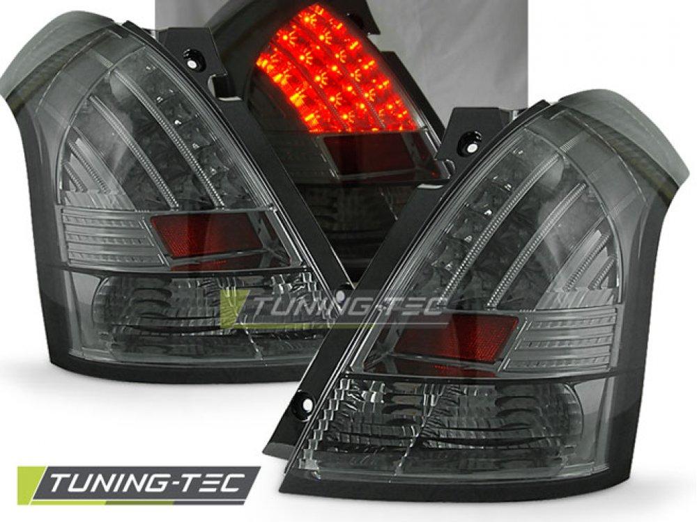 Задние фонари LED Smoke на Suzuki Swift II