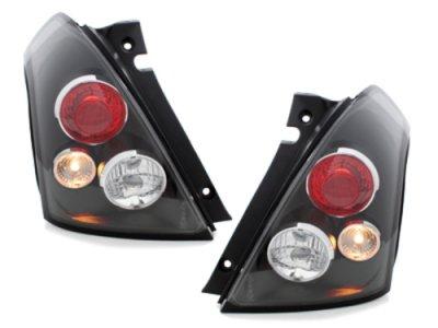 Задние фонари Black на Suzuki Swift II