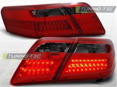 Задние фонари LED Red Smoke на Toyota Camry XV40