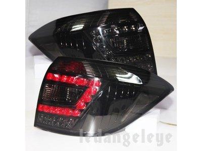 Задние фонари LED Smoke на Toyota Highlander II