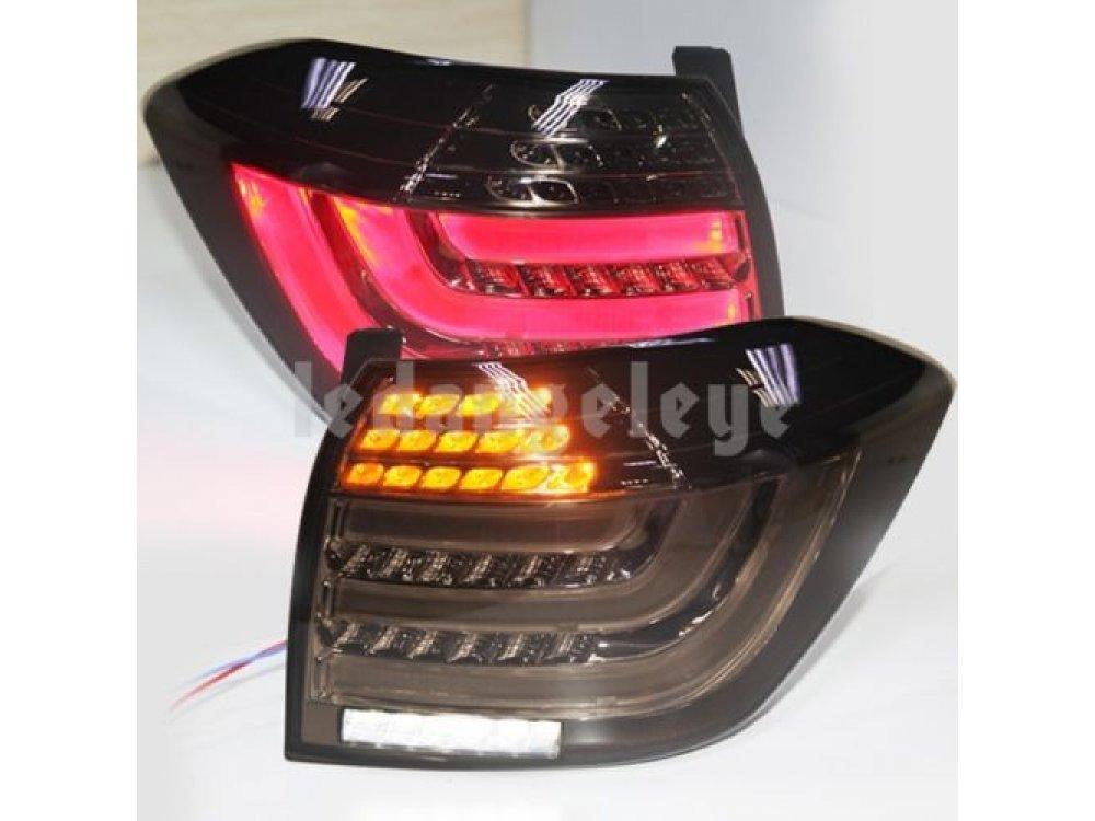 Задние фонари Neon Tube Smoke на Toyota Highlander II