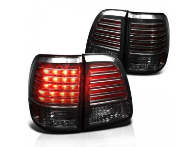 Задние фонари LED Smoke на Toyota Land Cruiser 100