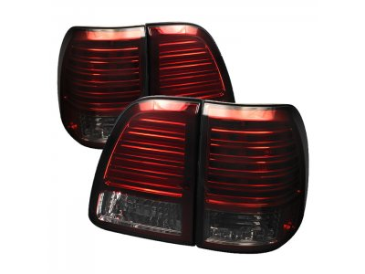Задние фонари LED Red Smoke на Toyota Land Cruiser 100