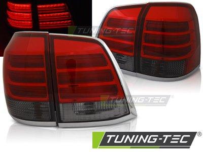 Задние фонари F-Style Red Smoke на Toyota Land Cruiser 200