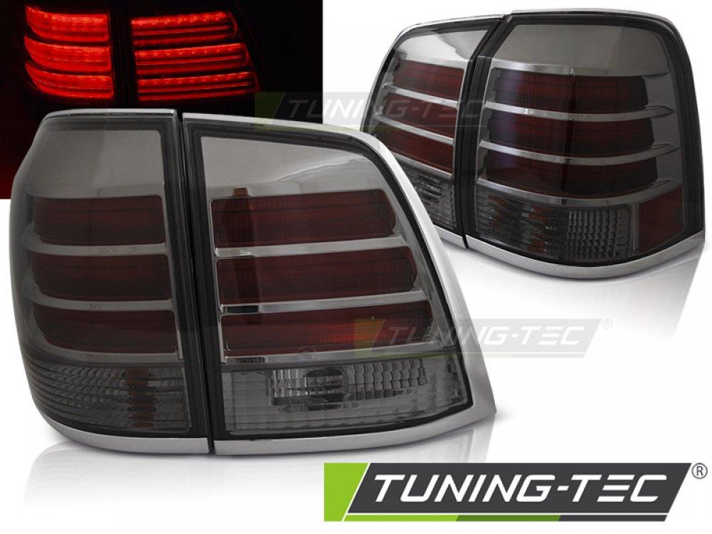 Задние фонари F-Style Smoke на Toyota Land Cruiser 200