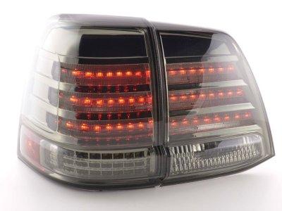 Задние фонари Full LED Smoke на Toyota Land Cruiser 200
